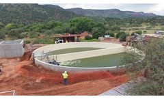 Equalization Basin for Wastewater Treatment