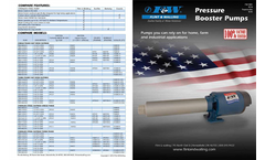 Pressure Booster Pumps Brochure