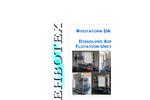 Envotech - Model DAF - Dissolved Air Flotation Units - Brochure