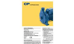 Model CPM Series - Centrifugal Pumps Brochure