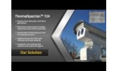 Substation monitoring and control system for electric substations using non-contact thermal imaging - Video