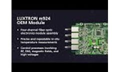 m924 OEM Module Overview - Video
