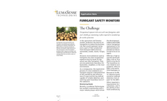 Fumigant Safety Monitoring - Application Note