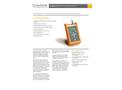 LumaTEST - Handheld Monitor - Datasheet