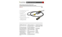 LumaSense - Model ISQ 5-LO - Digital, Accurate 2-color Pyrometer - Datasheet