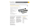 LumaSense - Model IS 6 Advanced - Stationary, Digital Pyromete - Brochure