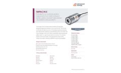 IMPAC IN 5 Pyrometer for Non-Contact Temperature Measurement - Datasheet