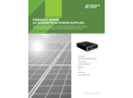 Pinnacle Series DC Magnetron Power Supplies - Data Sheet