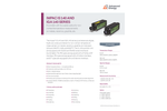 IMPAC IS 140 AND IGA 140 SERIES Pyrometer with Focusable Optics for Noncontact Temperature Measurements - Data Sheet