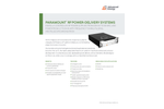Paramount Repeatable Power Delivery for Core Plasma Applications - Data Sheet