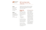 PDX Low-Power Series Lightweight, Compact, Power Supplies - Data Sheet