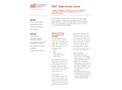 PDX High-Power Series Compact, CE-Marked, Mid-Frequency Power Supplies - Data Sheet