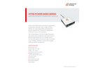 Hitek Power MSRZ Series Mass Spectrometry Power Supply Modules - Datasheet