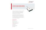 Hitek Power MSRZ Series Mass Spectrometry Power Supply Modules - Datasheet