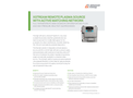XSTREAM Remote Plasma Source with Active Matching Network - Data Sheet
