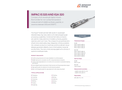 IMPAC IS 320 AND IGA 320 Compact, Short Wavelength Digital Infrared Thermometer - Data Sheet