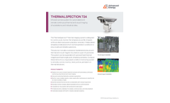 Thermalspection 724 Infrared Camera System - Data Sheet