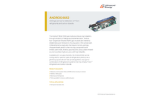 ANDROS 6552 OEM Gas Sensor for Detection of Freon Refrigerants and Carbon Dioxide - Datasheet