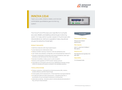 Innova 1314i Highly Accurate, Stable, Quantitative, and Remotely Controllable Gas Monitoring System - Data Sheet
