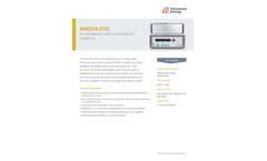 Innova 3731 SF6 Leak Detection System for Enclosed GIS Substations - Data Sheet