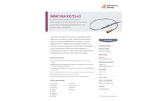 IMPAC IGA 320/23-LO Small, Short Wavelength Digital Infrared Thermometer - Data Sheet