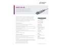 IMPAC ISR 320 Small, Stationary, Digital Ratio Pyrometer - Data Sheet