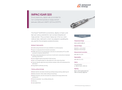 IMPAC IGAR 320 Small, Stationary, Digital Ratio Pyrometer - Data Sheet
