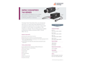 IMPAC 740 SERIES High-Speed Pyrometers for Non-Contact Temperature Measurement - Data Sheet