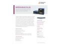 MIKRON M315X (X4, X6) Two-Piece Medium Temperature Blackbody Calibration Source - Data Sheet