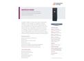 MIKRON M390 High temperature blackbody calibration. Source - Data Sheet