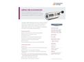 IMPAC ISR 6 ADVANCED Stationary, Digital Ratio Pyrometer for Noncontact Temperature Measurement - Data Sheet