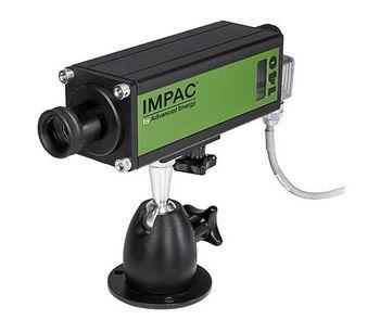Advanced Energy - Model Impac IPE 140/39 - Digital Pyrometers with Focusable Optics for Metal and Glass Temperature Measurement, 20 to 1800°C