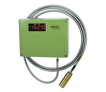 Advanced Energy - Model Impac ISR 12-LO and IGAR 12-LO Series - Digital, Two-Color Infrared Temperature Sensors, 300 to 3300°C