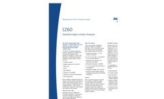 Model 1260A - Impedance/Gain Phase Analyzer Brochure