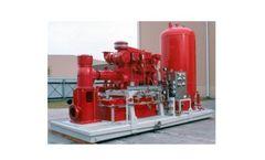 Peerless - Model B-1542 - Offshore Platform Fire Pump System