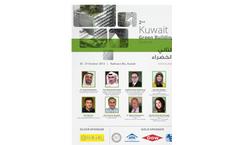 2nd Kuwait Green Building Forum 2013 Brochure
