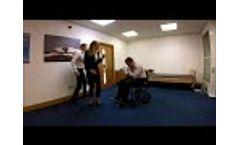 Adult Choking in a Wheelchair Video