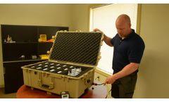 MIC-15 Personal Air Sampler Charging Case- Video