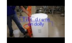 IPC - How to open and dispense from a 55 gallon drum with a faucet - Video