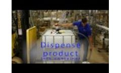 IPC - How to open and dispense from a tote using a pump - Video