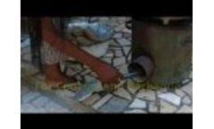 Groundnut Shells for Briquettes - Greentech-C.F.Nielsen BPU3200 Video