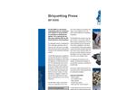 BP 5000 Briquetting Press Brochure