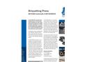 BP 6000 Briquetting Press Brochure