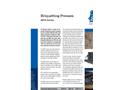 BPH Series – Hydraulic Briquetting Presses Brochure