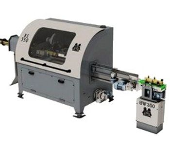 C. F. Nielsen - Model BS 350 - Automatic Combined Briquette Sawing and Check-Weighing System