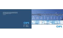ORI - Model Basic Ex 1 - Solid Stationary Sampler Brochure
