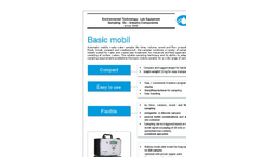 ORI - Model Basic - Automatic Mobile Waste Water Sampler Datasheet