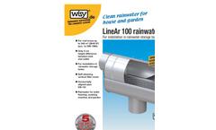 LineAr 100 Rainwater Filter Brochure