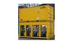 Model GCKV - Gas Transport Container