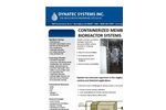 Membrane Bioreactor Package Plant (MBR) Brochure